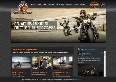 Harley-Davidson Bergstraße