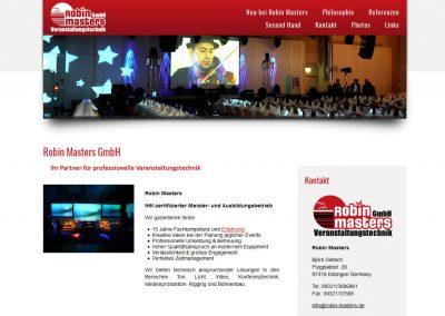 Robin Masters GmbH